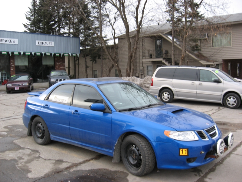 2005 Saab 9 2x Aero